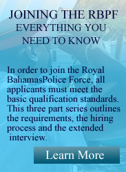 Joining the Royal Bahamas Police Force